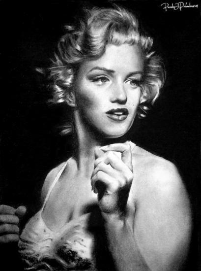 Marilyn Monroe por Paladino